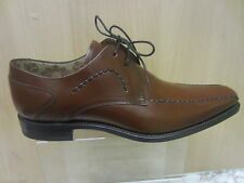 Mens Loake Lace Up Shoe, Tan Leather, Deckard