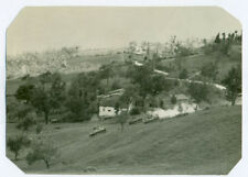 WWII Signal Corps photo U.S. 5th ARMY TANKS IN BAMBIANO, ITALY 1944