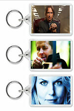 Once Upon A Time TV Show Keyring / Bag Tag Choose from 24 images! *Great Gift!*