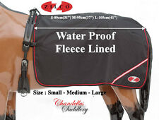 Zilco Carriage Driving Waterproof Fleece Lined Quarter Sheet Rug 3 Sizes **New**