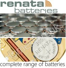 RENATA BATTERIES FOR CAMERA WATCHES CALCULATOR BUTTON CELL POWER SILVER OXIDE