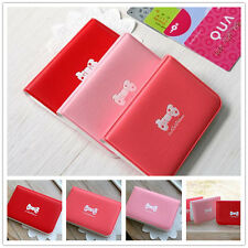 New 3 Colors Cute Business ID Credit Card Holder Case Wallet Pocket