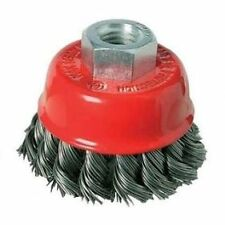 Twist Knot Wire Cup Brush for Angle Grinder various sizes M14 Thread