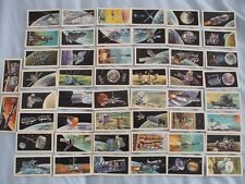 BROOKE BOND TEA CARDS:THE RACE INTO SPACE BLACK BACK:BUY INDIVIDUALLY NOs1 TO 25