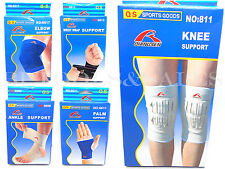 (2) Elbow/Wrist/Palm/Knee/Ankle Band Support Sports Pain Protector Elastic Brace