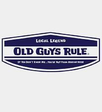 OLD GUYS RULE CLASSIC LOCAL LEGEND WHITE TEE SHIRT