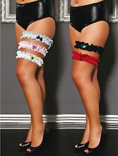 Sexy  Garters Iga 5 Colour & Size Variation Exclusive Collection By Andalea