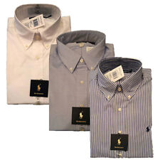 Polo Ralph Lauren Dress Shirt Classic Button Down T-shirts Pony Logo L/s Oxford