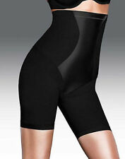 FLEXEES EASY UP HI WAIST THIGH SLIMMER #1455 BLACK NWT