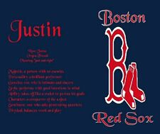 MLB Baseball Name Meaning Print available in all teams for any name