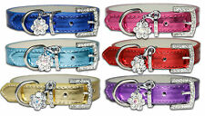 Dog Collars New Rhinestone Bling Diamante Pet Small Medium Large Puppy Dog Cute