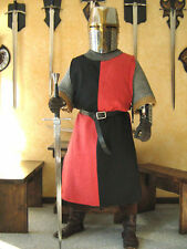 Medieval Knight Heraldry SCA Surcoat Tunic Tabard (T12)