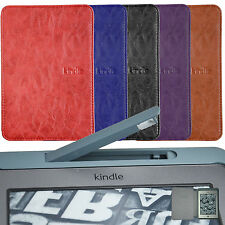 Ultra Slim Case Cover WITH Build In LED Light For KINDLE TOUCH +SCREEN PROTECTOR