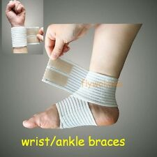 elastic Wrist Ankle elbow support guard strap joint pain relife Velcro band belt