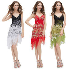 Ever Pretty Ladies Sexy Lace Short Evening Cocktail Dress Spaghetti Strap 00045