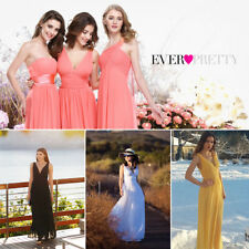 Ever Pretty Women V-neck Long Evening Bridesmaid Party Prom Formal Dresses 09016