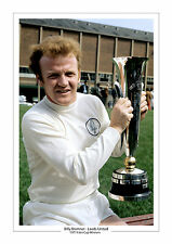 BILLY BREMNER 1971 FAIRS CUP LEEDS UNITED A4 or 16 x 12 PHOTO PRINT LEEDS UTD