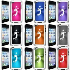 Apple iPod Touch 4th Generation Hard Case Cover Female Volleyball Player
