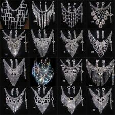 New Fashion Set Bridal Party Wedding Crystal Rhinestone Necklace More Style