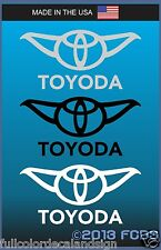 TOYODA Decal Sticker Funny Graphic Vinyl For Cars Windows Trucks Laptops