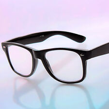 Wayfarer Clear Lens Magnified Reading Glasses Readers New