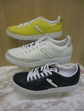 Mens Ellesse Lace Up Leather Trainer, Alassio