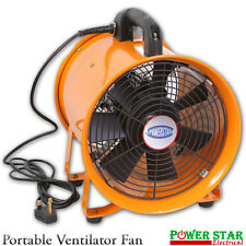 Portable Ventilator Industrial Air Axial Metal Blower Workshop Extractor Fan