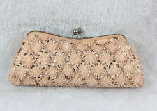 Classic Beaded Sequined Evening Clutch Bag 10 Colors