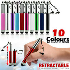 RETRACTABLE ALUMINIUM STYLUS PEN FOR THE NEW 2013 SAMSUNG i9500 GALAXY S4