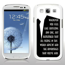 Samsung Galaxy S3 Cases - The Great Gatsby - Black/White Cases - 3 Designs!
