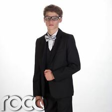 Boys dinner suit, Boys tuxedo, Boys black suit, Boys wedding suit, Page boy suit