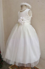 IVORY BROWN SILVER BLACK GOLD BEIGE BABY TODDLER PAGEANT PARTY FLOWER GIRL DRESS