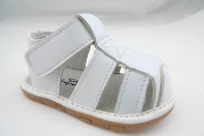 Brand New Baby's Genuine Leather Closed Toe Summer Sandals Infant Size 1-4