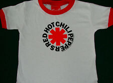 Red Hot Chili Peppers Ringer Toddler Shirt NEW 2T 3T 4T