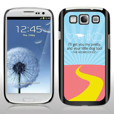 Samsung Galaxy S3 - Movie Quote - The Wizard of Oz - Black/White Hard Case