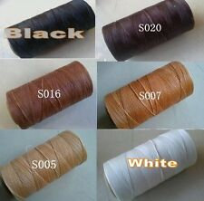 6 Colors Leather Sewing Thread Waxed For Leather Hand Stitching 284 Yards