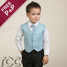 Boys Blue Suit, Christening Outfits for Boys, Page Boy Suits, Boys Wedding Suits