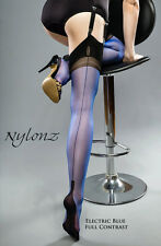 Gio Fully Fashioned Stockings FULL CONTRASTS -Imperfects- FREE UK SHIPPING