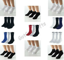 NEW MEN'S NIKE DRI FIT SOCKS! PICK YOUR FAVORITE STYLE AND COLOR! FREE SHIPPING!