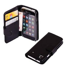 New Magnetic wallet flip Leather Cover Case for Samsung Galaxy S i9000 i9001