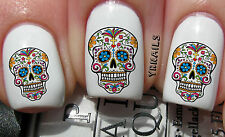 YRNails - Water transfer nail decals - The Sugar Skull Range