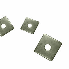 SQUARE PLATE WASHERS A2 Stainless Steel 50mm x 50mm M10 & M12 Square Washers