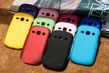 Hard  Rubberized Back Cover Case for Samsung Galaxy Fame Duos S6812 / S6810