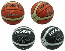 MOLTEN LIBERTRIA SIZE 6 / SIZE 7 BASKETBALL - INDOOR / OUTDOOR OFFICAL GAME BALL