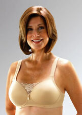 Classique Post-Mastectomy Molded Pocket Bra with Lace Insert, Beige, #720  *NEW*