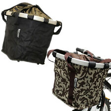 PEDALPRO BICYCLE QUICK RELEASE MATERIAL FOLDING BASKET BIKE/CYCLE/SHOPPING BAG