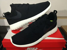 Nike Roshe Run Black Anthracite Sail sz 8-13 B yeezy runner shoe FB 511881-010