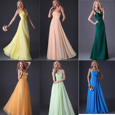 6 Styles Formal Long Evening Party Bridesmaid Dress Cocktail Prom Ballgown Dress