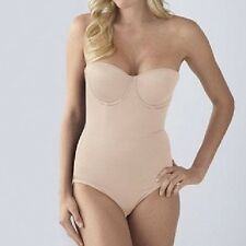 Sweet Nothings by Maidenform Firm Control Body Briefer #83956 Beige NWT