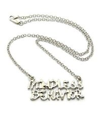 "New Mindless Behavior Pendant w/3mm18"" Link Chain Fashion Necklace FXC423"